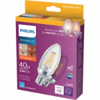 Philips 3pk 40wba11 Wg Led Bulb 540773
