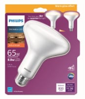Philips 8.8-Watt (65-Watt) BR40 Indoor LED Floodlight Bulb
