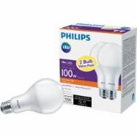 Philips 18-Watt (100-Watt) Medium Base A21 LED Light Bulbs Value Pack - 2 pk