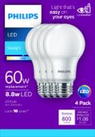 Philips 8.8-Watt (60-Watt) A19 LED Light Bulbs