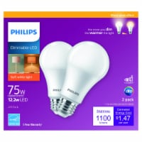 Philips 12.2-Watt (75-Watt) A19 Dimmable LED Light Bulb