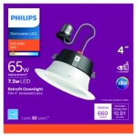 Philips 7.5-Watt (65-Watt) Retrofit Downlight LED Light Bulb