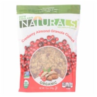 New England Naturals Organic Clusters - Cranberry Almond Granola - Case of 6 - 12 oz. - Case of 6 - 12 OZ each