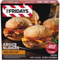 TGI Fridays BBQ Bacon Angus Sliders