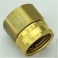 Orbit Brass 1/2 in. Dia. x 3/4 in. Dia. Hose Adapter 1 pk - Case Of: 12; Each Pack Qty: 1; - Case of: 12