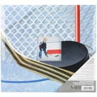 MBI Sport & Hobby Post Bound Album W/Window 12 X12 -Hockey - 1
