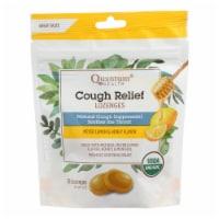 Quantum Research Organic Cough Relief Lozenges - Meyer Lemon & Honey - 18 count - Pack of 3