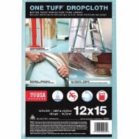 Trimaco Leakprf/SlipResDropCloth,Blu,12ftLx15ftW  90039