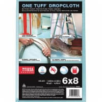 Trimaco Leakproof/SlipResist DropCloth,6ftLx8ftW  90088