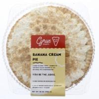 Cyrus O'Leary's Pies Banana Cream Pie