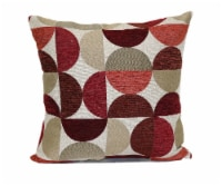 Brentwood Moon Phases Decorative Pillow - Red