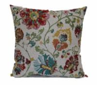 Brentwood Hollis Paprika Jacquard Decorative Pillow - 18 x 18 in