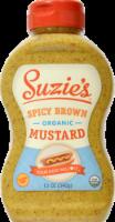 Suzie's Organic Spicy Brown Mustard - 12 oz