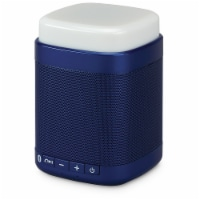 iLive Touch Light Bluetooth Speaker - Blue/White