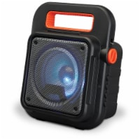 iLive ISB309B Tailgate Bluetooth Speaker - Black/Orange