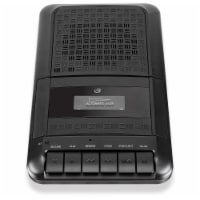GPX PRC257B Portable Cassette Player - Black