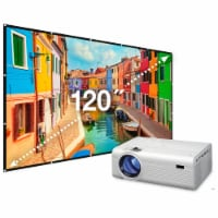 iLive Projector with Screen