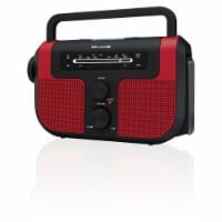 Weatherx WR383R AM/FM Weatherband Radio - Red/Black