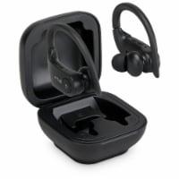 iLive True Wireless Sport Earbuds with Case - Black