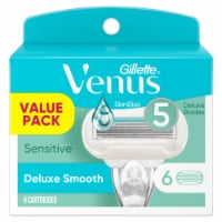 Gillette Venus Deluxe Smooth Sensitive Razor Cartridges