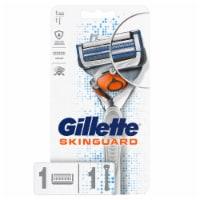Gillette SkinGuard Men's Razor Flex Handle + 1 Blade Refill Cartridge