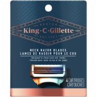King C. Gillette Neck Razor Blade Cartridges