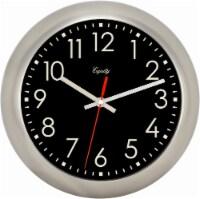 La Crosse® Technology Metal Wall Clock - White