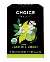Choice Organics Jasmine Green Tea Bags - 16 ct