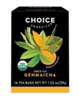 Choice Organic Genmaicha Green Tea Bags