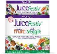 Natrol JuiceFestiv Daily Fruit & Daily Veggie Capsules