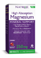 Natrol High Absorption Magnesium Cranberry Apple Flavored Chew Tablets