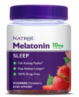 Natrol Melatonin Strawberry Flavored Gummies 10mg