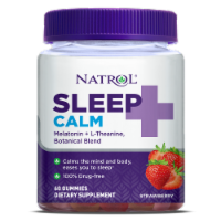 Natrol Sleep + Calm Strawberry Gummies
