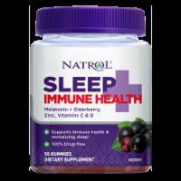 Natrol Sleep + Immune Health Berry Gummies - 50 ct