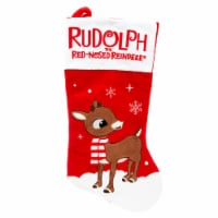 Holiday Home® Rudolph Stocking - Red