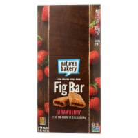 Natures Bakery Whole Wheat Strawberry Fig Bar, 2 Ounce -- 84 per case.