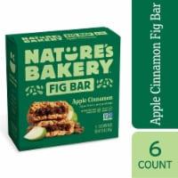 Nature's Bakery Apple Cinnamon Fig Bars 6 Count