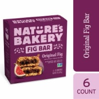 Nature's Bakery Whole Wheat Original Fig Bars 6 Count