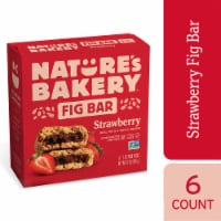 Nature's Bakery Whole Wheat Strawberry Fig Bars - 6 ct / 2 oz
