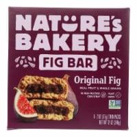 Nature's Bakery Stone Ground Whole Wheat Fig Bar - Original - Case of 6 - 2 oz. - 6/2 OZ