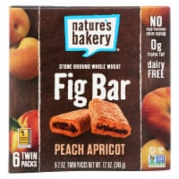 Nature's Bakery Stone Ground Whole Wheat Fig Bar - Peach Apricot