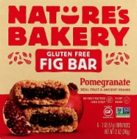 Nature's Bakery Gluten Free Pomegranate Fig Bars 6 Count - 6 ct / 2 oz