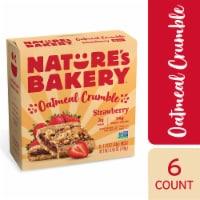 Nature's Bakery Strawberry Oatmeal Crumble Bars