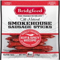 Bridgford Hot & Spicy Smokehouse Sausage Sticks