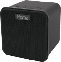 iHome iBT58 Bluetooth Speaker with Voice Control - Black