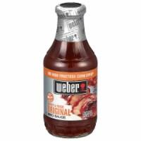 Weber Sweet & Thick Original BBQ Sauce - 18 oz