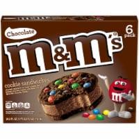 M&M's Chocolate Ice Cream Cookie Sandwiches