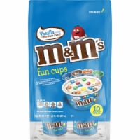 M&M's Vanilla Chocolate Swirl Fun Cups