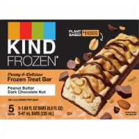 Kind Frozen Dark Chocolate Peanut Butter Treat Bars