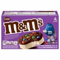 M&M's Classic Ice Cream Cookie Sandwiches 4 Count